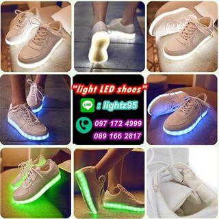รองเท้ามีไฟ รองเท้าled รองเท้าเรืองแสง by Light LED shoes